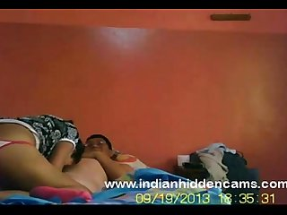 horny indian bhabhi sex fucking her man who watching porn