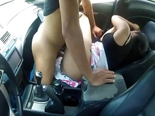 NRI hoot GF hoot crazy Fuck in car